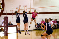 2010 Eastern Volleyball vs. Wilkes: Dig for the Cure