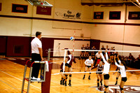 2011 Volleyball vs Franklin and Marshall and Moravian